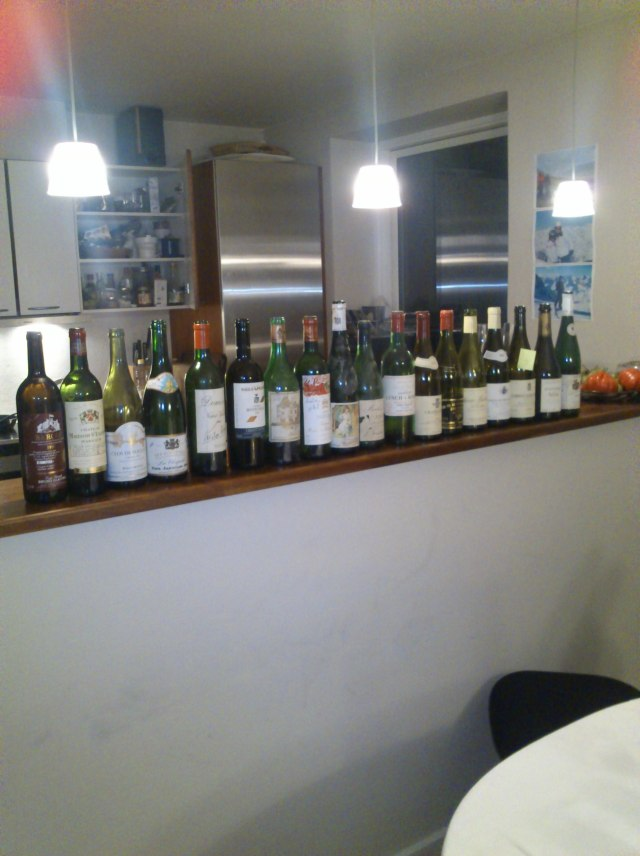 Wine lineup